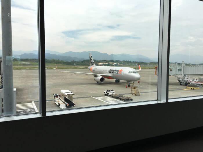 ジェットスター 高松空港搭乗口