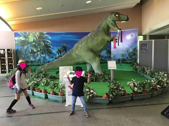 あすたむランドの恐竜