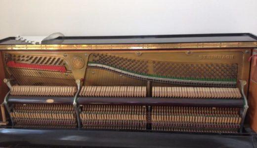 ピアノの鍵盤が突然壊れて動かなくなる。ふたを開けたら内部の構造がすごかった。