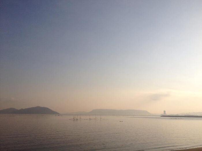 瀬戸内海と屋島