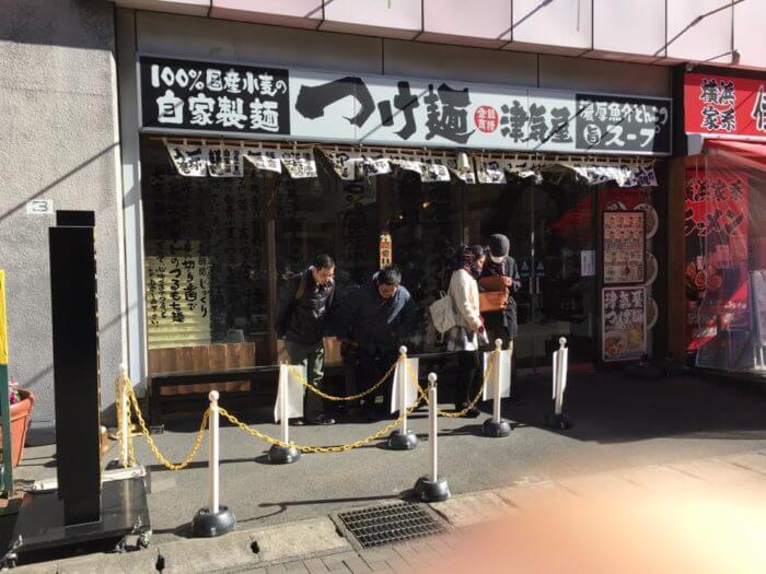 つけ麺津気屋・武蔵浦和店の行列