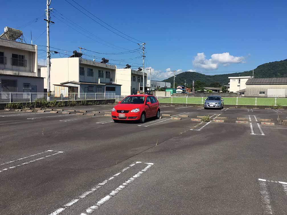 高速バス・ゆめタウン駐車場