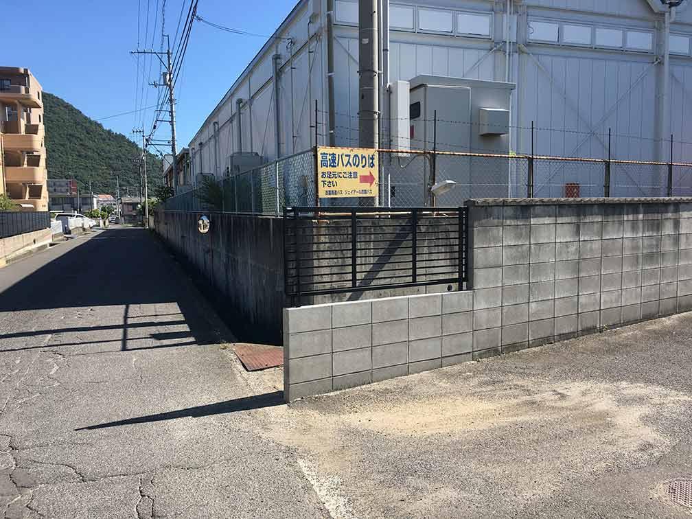 ゆめタウン高松・高速バス乗り場までのルート