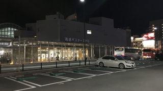 高松駅の高速バス乗り場