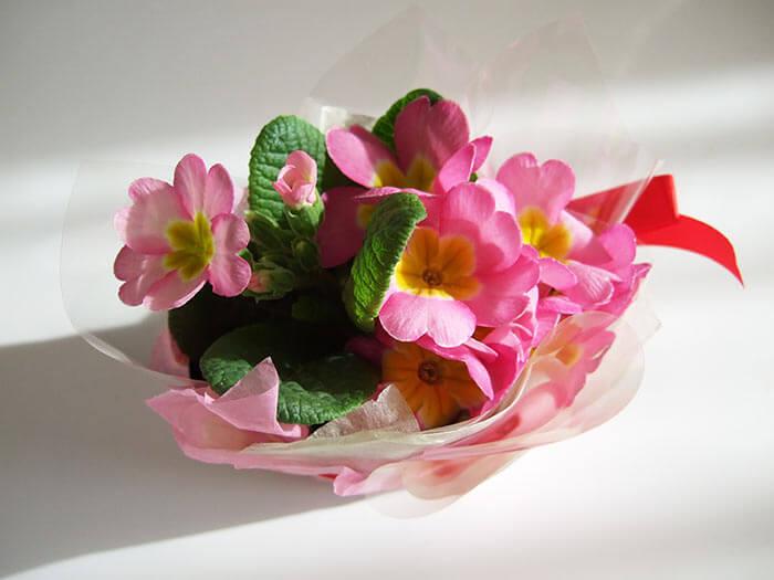 誕生日のお祝いの花