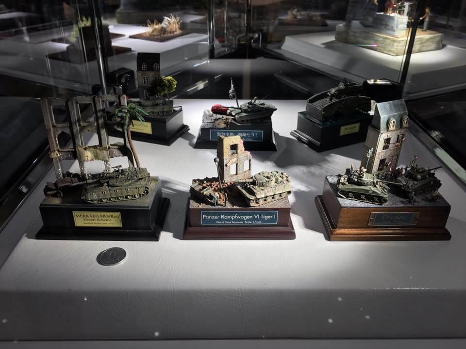 情景師アラーキーのジオラマ作品・戦車コレクション