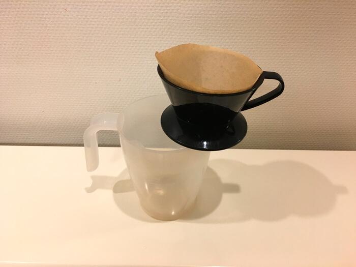 コーヒーエネマとドリッパー