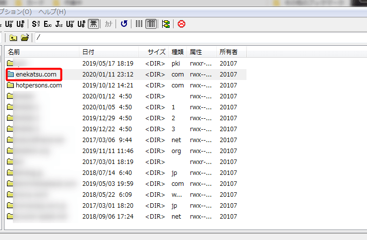xサーバードメイン変更17